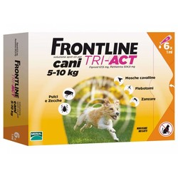 Frontline TRI-ACT - Frontline tri-act Cani 5-10 kg 6 pipette