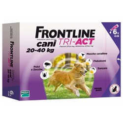 Frontline TRI-ACT - Frontline tri-act Cani 20-40 kg 6 pipette
