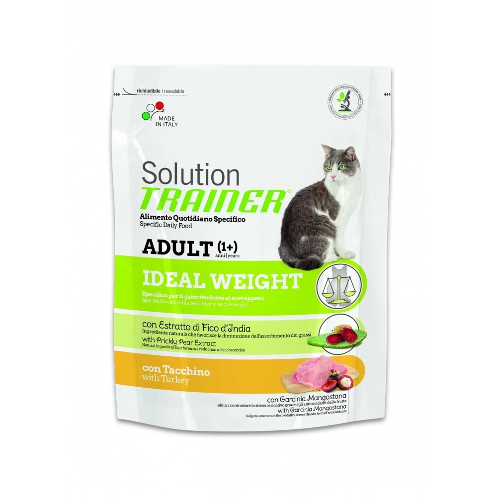 Nova foods trainer solution gatto ideal weight con tacchino 300 gr